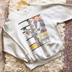 Vintage | 90's Western Frontier Cactus Sweatshirt